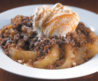 Cinnamon Apple Kettle Cobbler