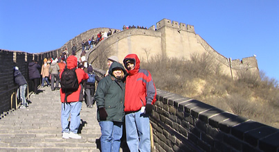My Friend Debbie_Great Wall of China
