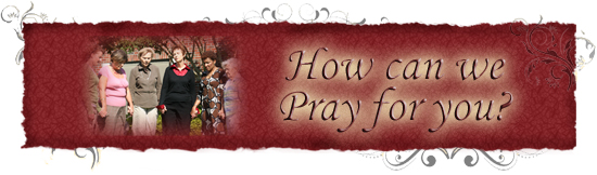 Request Prayer - www.myfriendDebbie.com