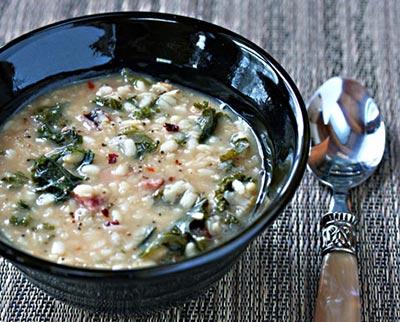 Lintel Barley Soup