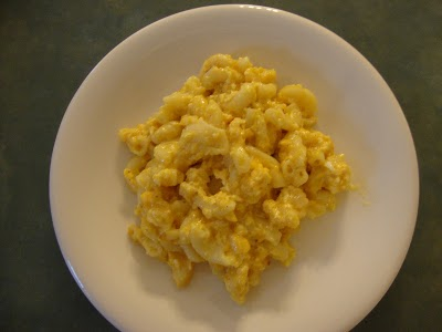 Eggs with Macaroni and Cheese - My Friend Debbie
