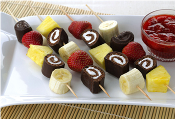 Pics Photos - Recipe For Kids Fun Fruit Kabobs