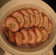 My Friend Debbie - Bacon Wrapped Turkey Breasts