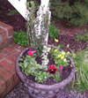 My Friend Debbie - Winter Planter Garden