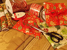 My Friend Debbie - Reusable Fabric Wrapping